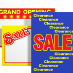 Retail Signs for Sale Events
